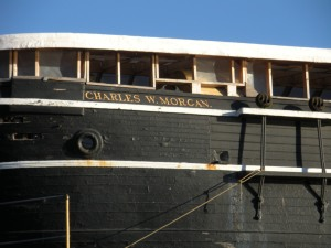 Detail from the Charles W. Morgan.