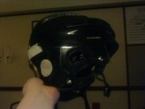 The safety helmet of DOOM.