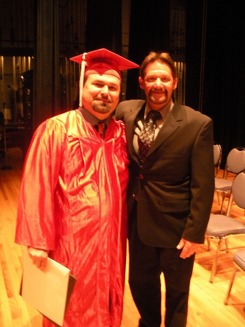 Geoff & Jay at Graduation
