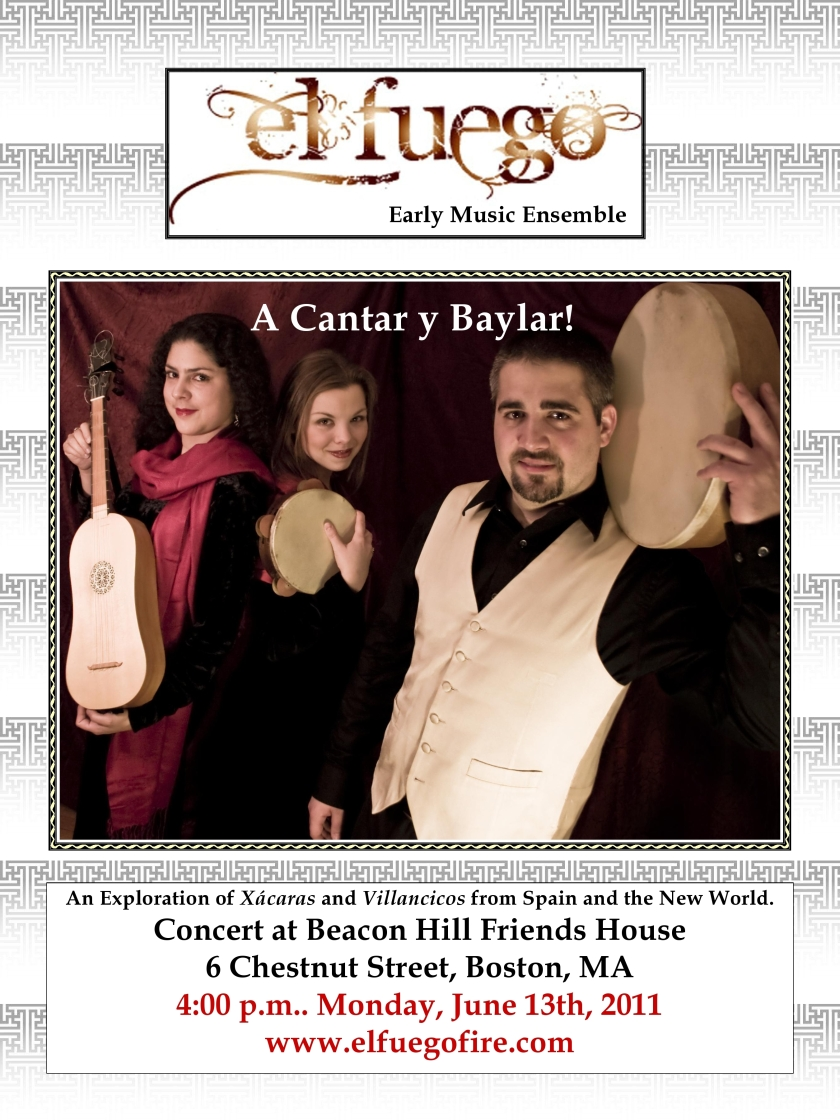 El Fuego Concert Poster