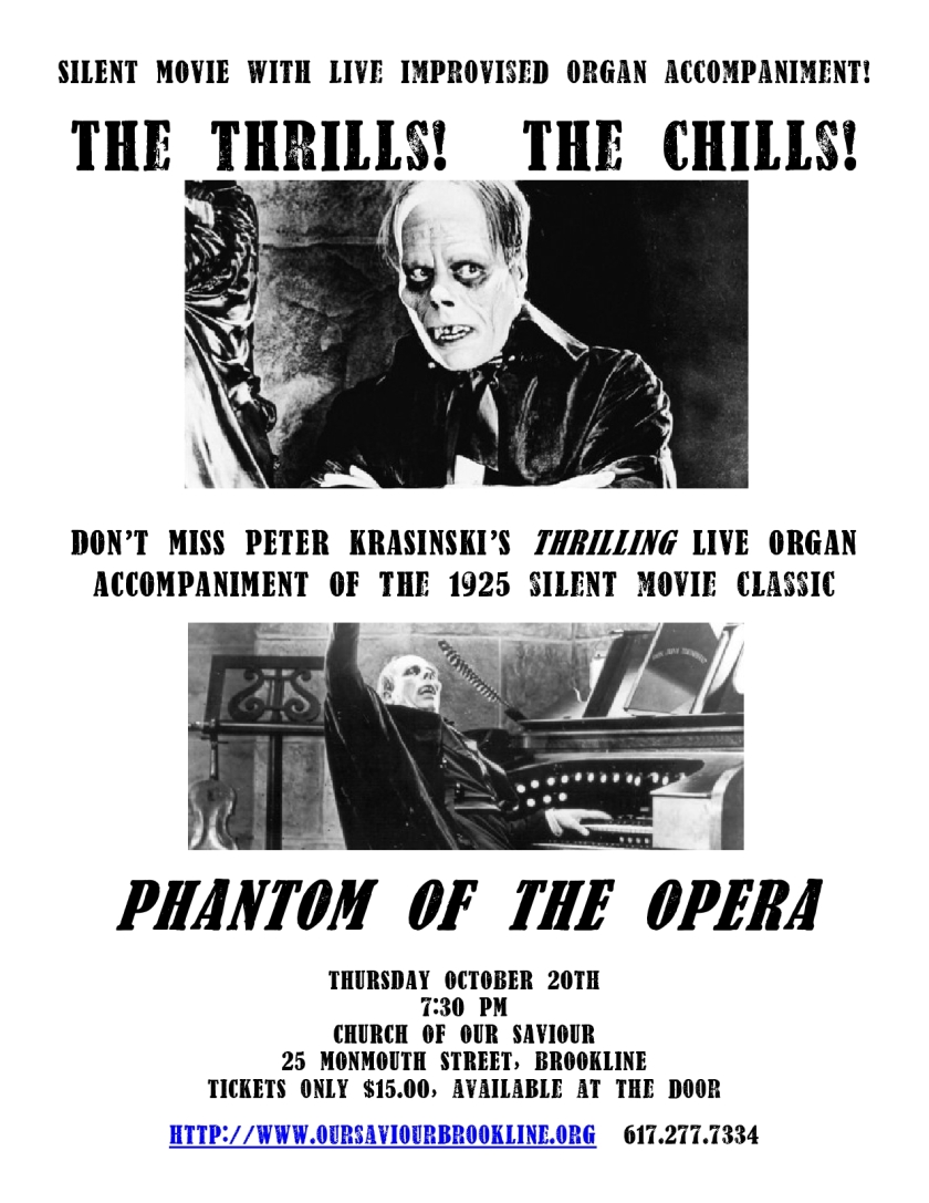 The 1925 PHANTOM OF THE OPERA