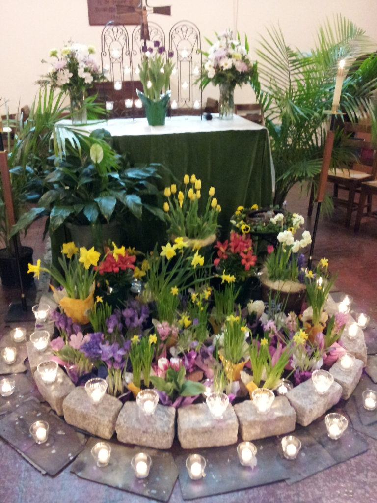 St. Peter's Easter Flowers