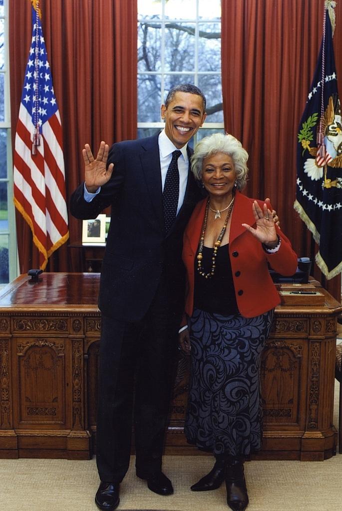 Obama and Uhura