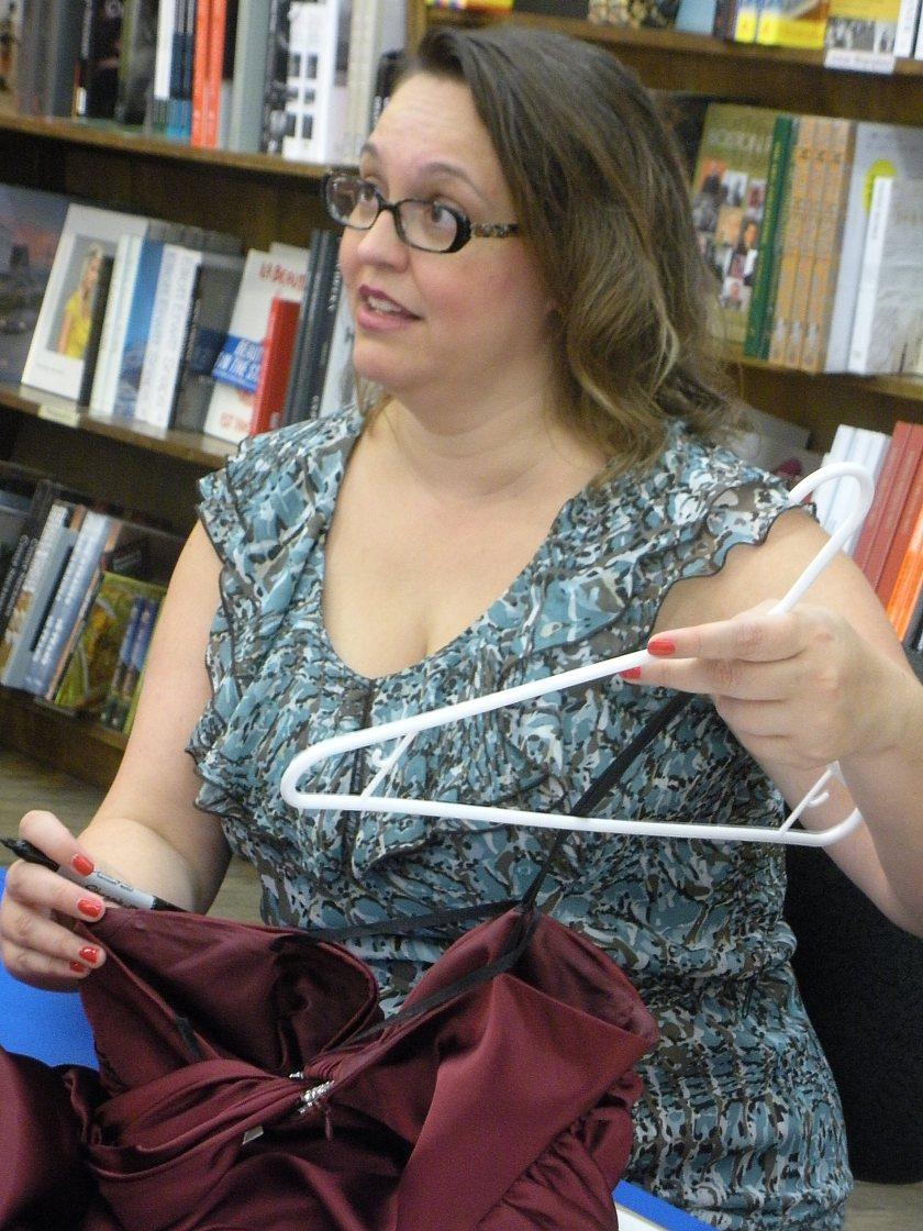 Jenny explains The Traveling Red Dress