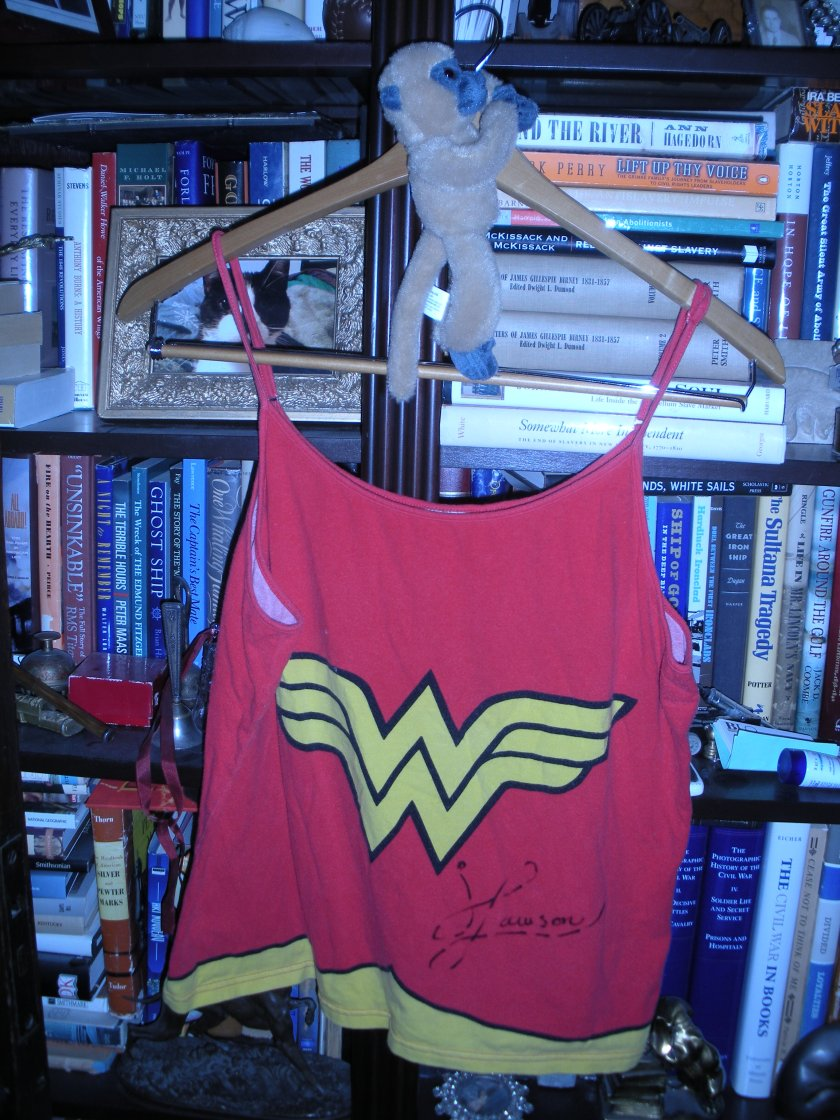 Pajama top signed by The Bloggess