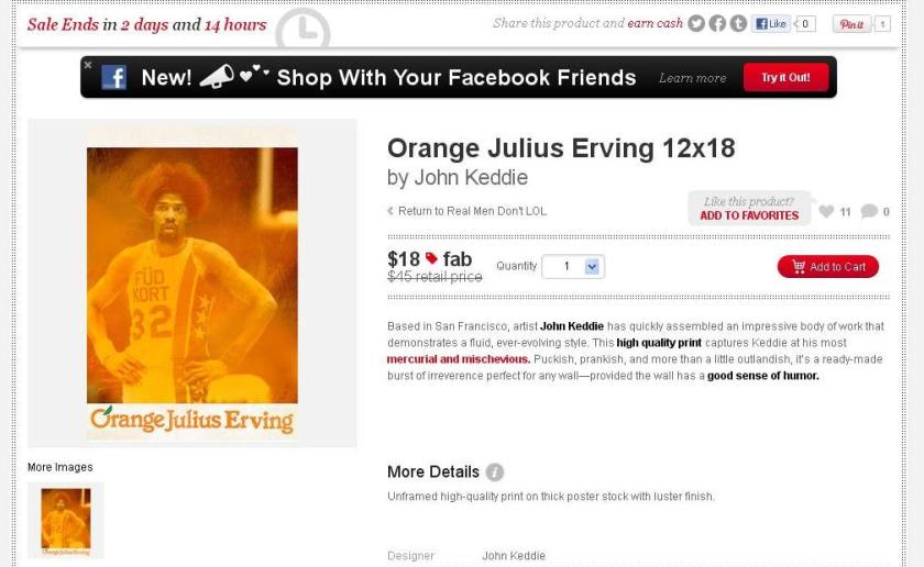 Julius Irving Orange Juice