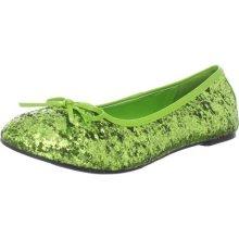 green clown shoes