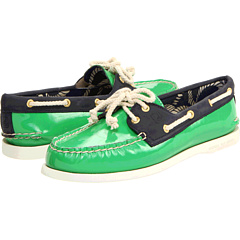 green preppy shoes