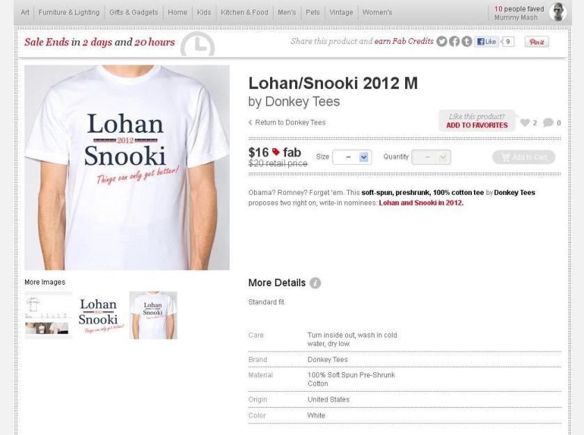 Lohan - Snookie 2012