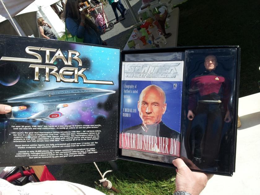 Captain Picard Action Figure.