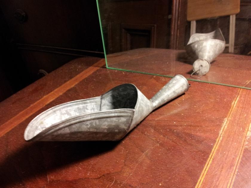 Anodized aluminum scoop $5