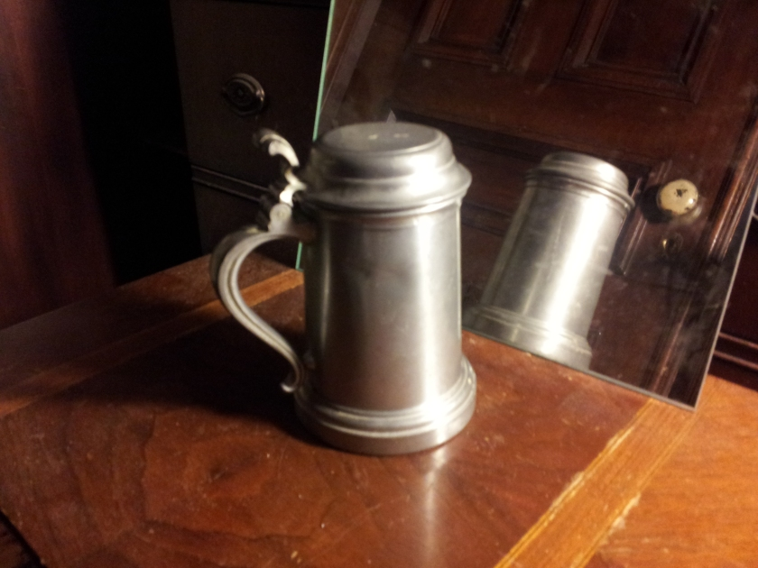 And, of course, a proper stein to pour stuff into from the pitcher.