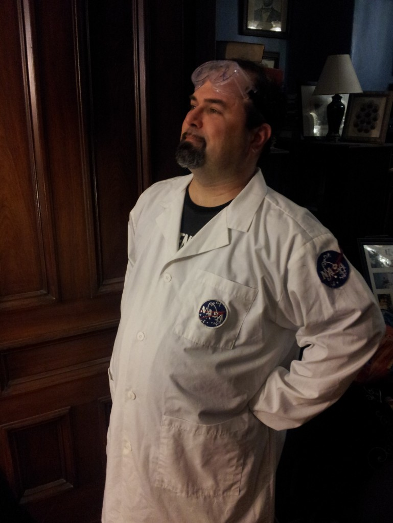 Geoff boldly goes where no NASA scientist has gone before.