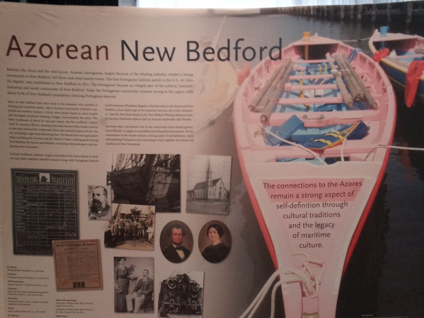 New Bedford is where the Portuguese community in Massachusetts really began.