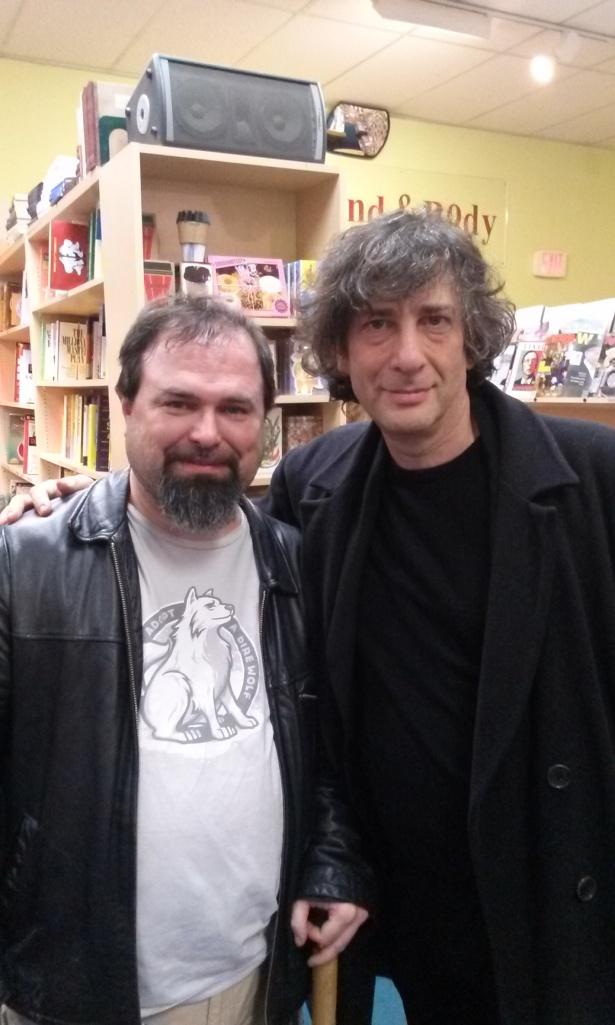 Me and Neil Gaiman