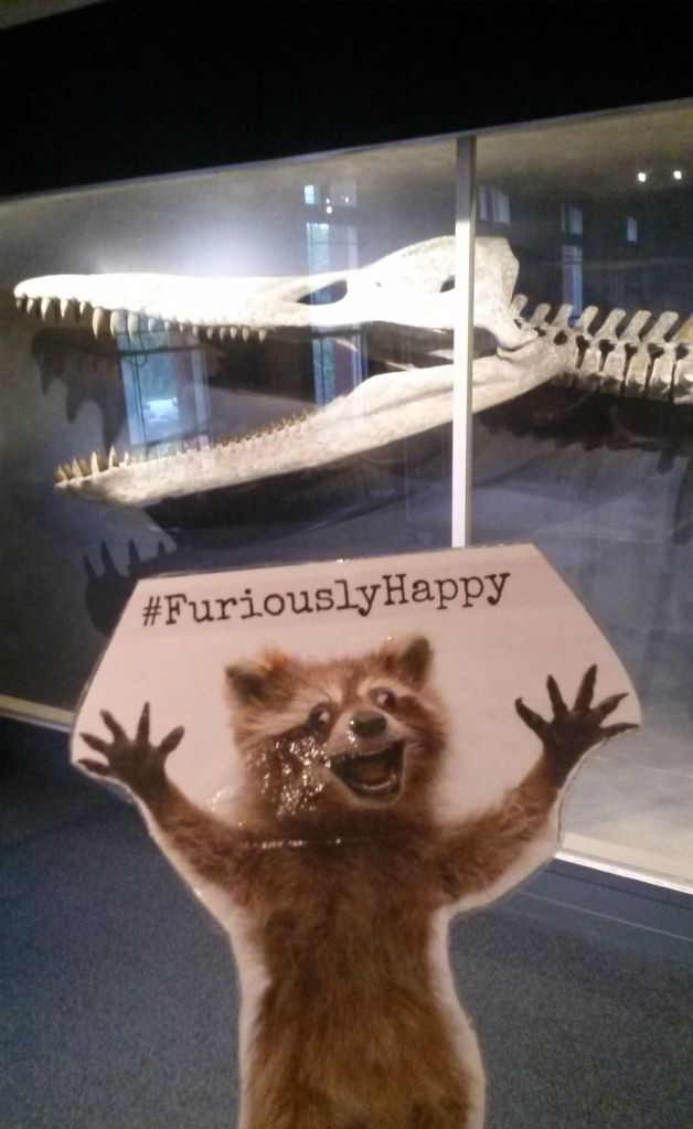 The HMNH mascot, the Kronosaurus.