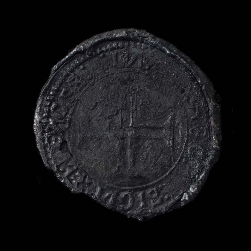"This coin is so exceedingly rare it has become known as the ""Ghost Coin"" of Portuguese King Dom Manuel I."