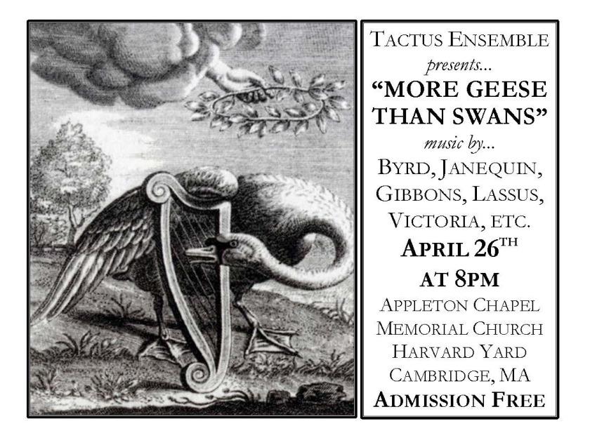 Tactus Spring16 Concert Poster