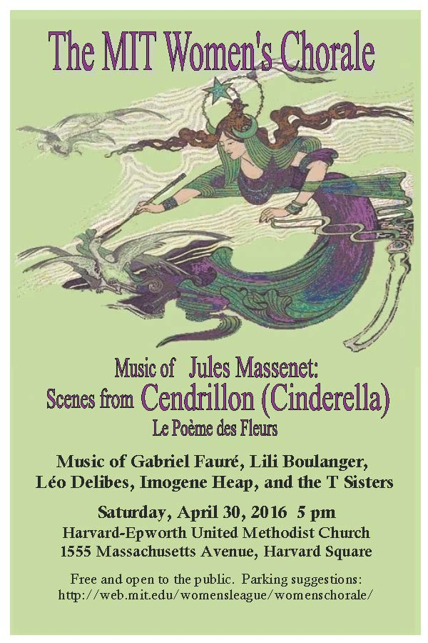 Women's Chorale Spring '16 poster