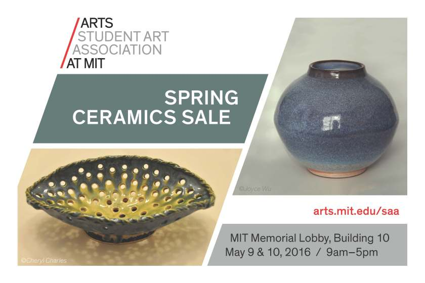 Come check it out, the ceramics are always beautiful and they're one of a kind.