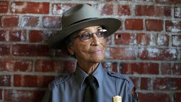 US Park Service Ranger Betty Reid Soskin