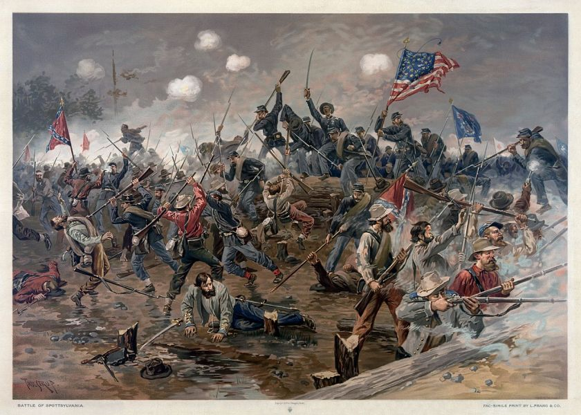 1280px-Battle_of_Spottsylvania_by_Thure_de_Thulstrup