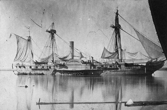 USS_Mississippi_1863